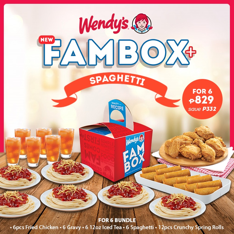 The new Fambox+ Spaghetti is available for 4 or 6!  Order for delivery via our hotline at 8-533-3333 or our website at https://t.co/lAfPE6qIR3. Also available via foodpanda, LalaFood, and GrabFood.  Offer available until May 31, 2020. https://t.co/eeFCGnR9Dm