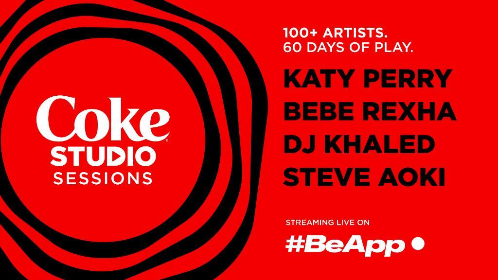 #CocaCola en #BeApp lanceren samen #CokeStudioSessions: 60 dagen live muziek door topartiesten waarbij je via de app kan doneren aan het Internationale Rode Kruis. In aanvulling op ons steunprogramma in de strijd tegen COVID-19. https://t.co/Pk4aGO2C2S https://t.co/CpWaBI8OJZ