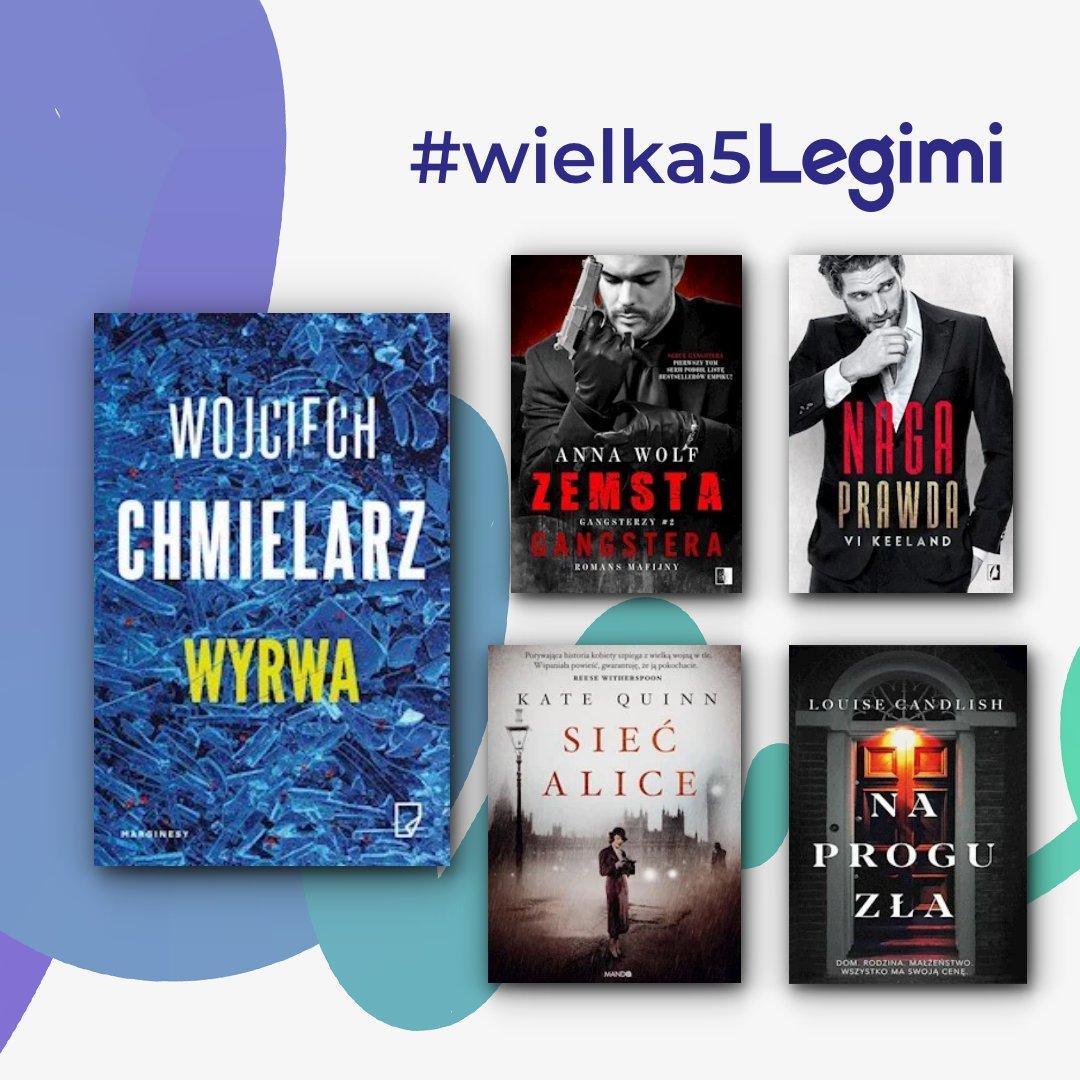 Mogliśmy się tego spodziewać, będzie większego zaskoczenia Wojciech Chmielarz - pisarz zajmuje pierwsze miejsce 🔥  📚 https://t.co/7NKnDvgbw6  #czytambezlimitu #bestREADpl #mustREADpl https://t.co/bKr5VuQmob