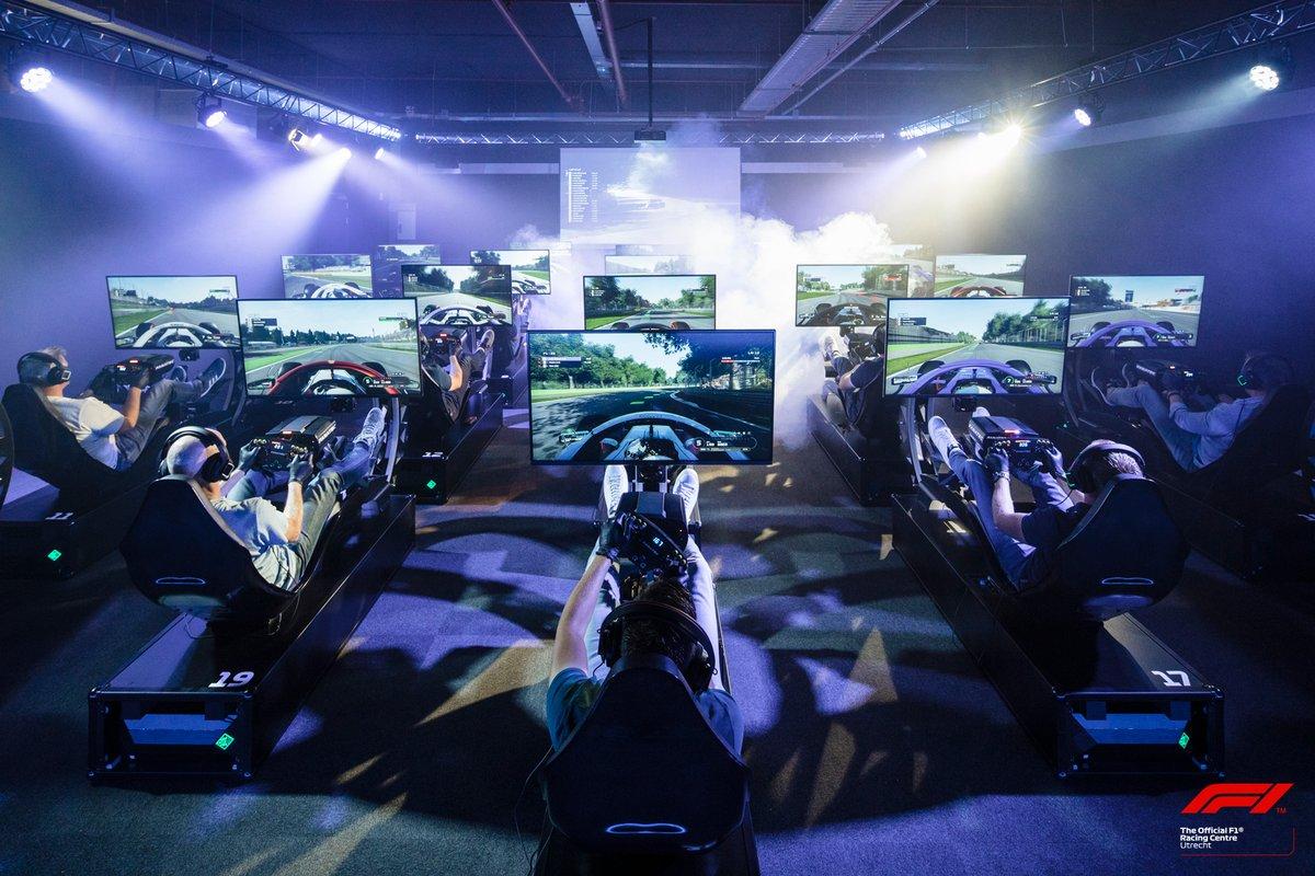 Utrecht krijgt een officieel Formula 1 Racing Centre. Op 1 juni opent in Utrecht een centrum waar zestig F1-simulatoren staan opgesteld om met elkaar en tegen elkaar de game F1 2019 te spelen. #f1nieuws https://t.co/ybEeeWIvHc https://t.co/09fLAn8JsS