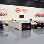 We're missing the shop floor being a hive of activity at this time but our graphics are on point thanks to @rorcreative who delivered and installed the new-look earlier in the year! 👍😍👀  #HaasF1 #BrandIdentity #CreativityDeliveredExpertly #F1