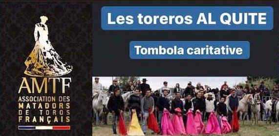 Soutiens à nos toreros français ! Grande tombola lancée par l'Association des Matadors de Toros Français ! Le lien pour participer 👉🏻https://t.co/yLrpdz8GYL https://t.co/uvhQvUaCd3