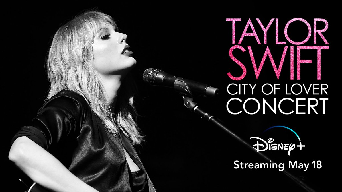 We promise that youll never find another like @taylorswift13 City of Lover Concert! Streaming in the UK from 18 May for a limited time on #DisneyPlus 🎶 #TaylorSwiftCityofLover