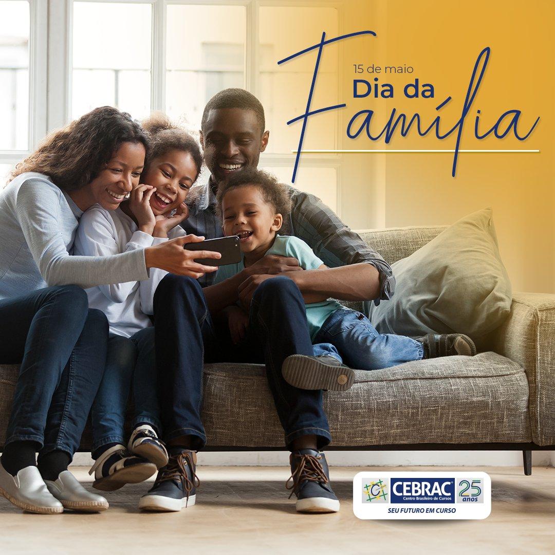 A família é a raiz de quem somos, representa o amor que recebemos e a alegria do que vivemos. É onde nossa história começa. Feliz #DiaDaFamília! 🧡 https://t.co/1xSw7RQhxy