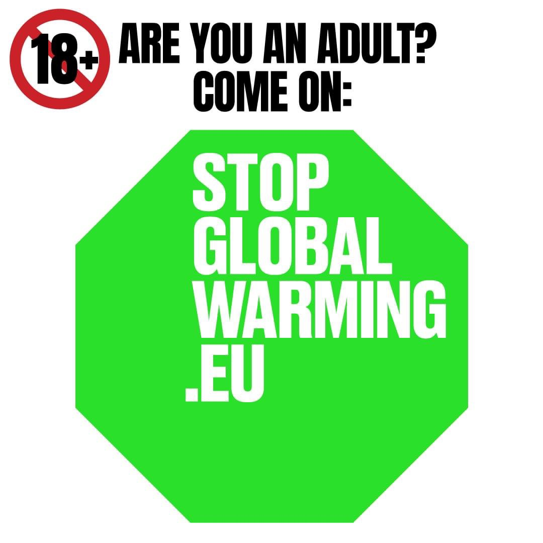 Are you under age? Don't worry, you can ask your parents to save the planet on  http://www. stopglobalwarming.eu    : it's much more than a petition. #StopGlobalWarming #FridaysForYou  #fridaysforfuture #climatestrike #climatestrikeonline<br>http://pic.twitter.com/y4XXJ0zgqT