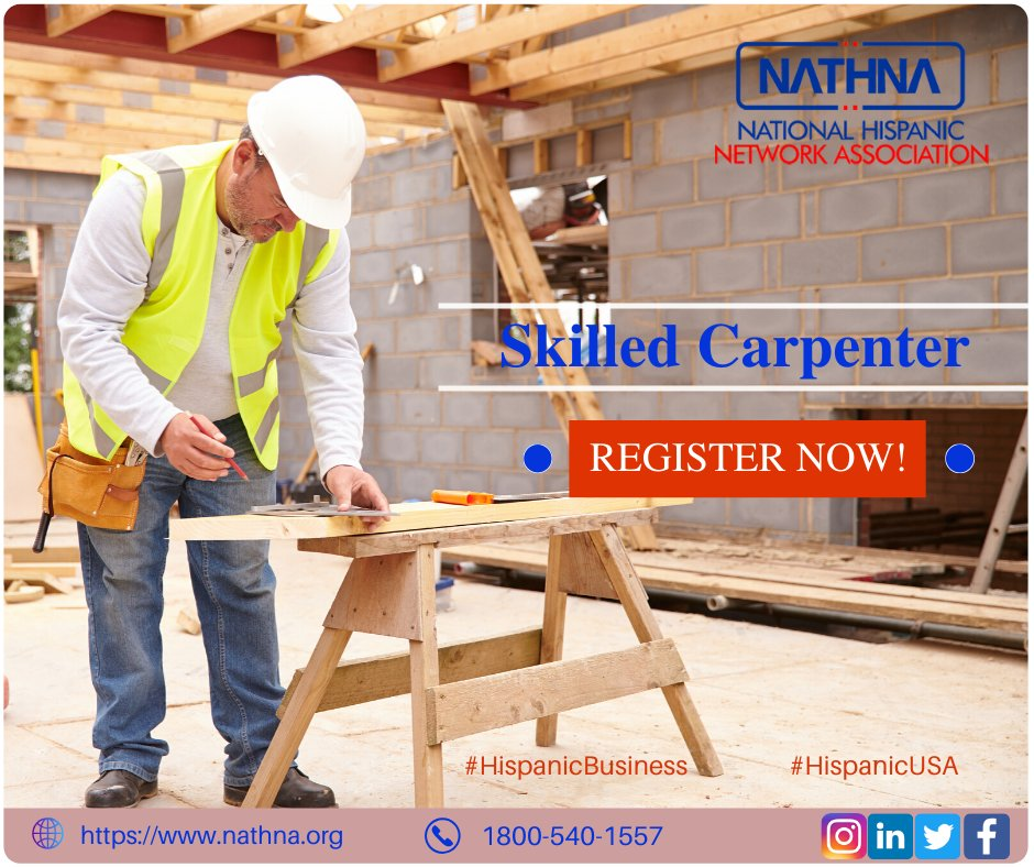 Before you hire a carpenter in Arizona, search in Nathna for a more skilled carpenter and select one who is suitable for the job because only a professional carpenter can give a fine polished finishing. visit nathna.org #Carpenter #Hispanicbusiness #hispanicusa