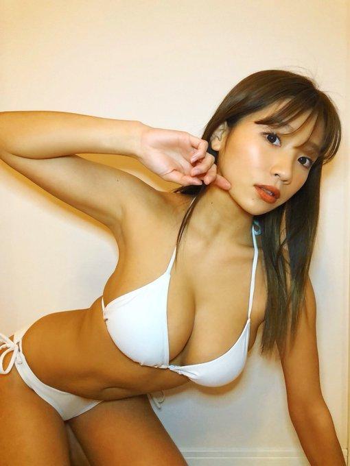 グラビアアイドル葉月あやのTwitter自撮りエロ画像3