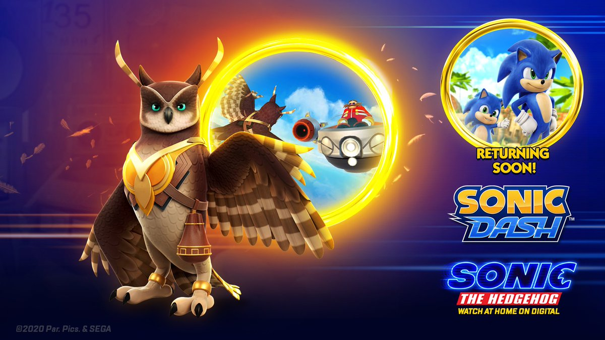 Sonic The Hedgehog On Twitter Zen Master And Best Bird Mom Longclaw Swoops Into Sonicdash For A Limited Time Only
