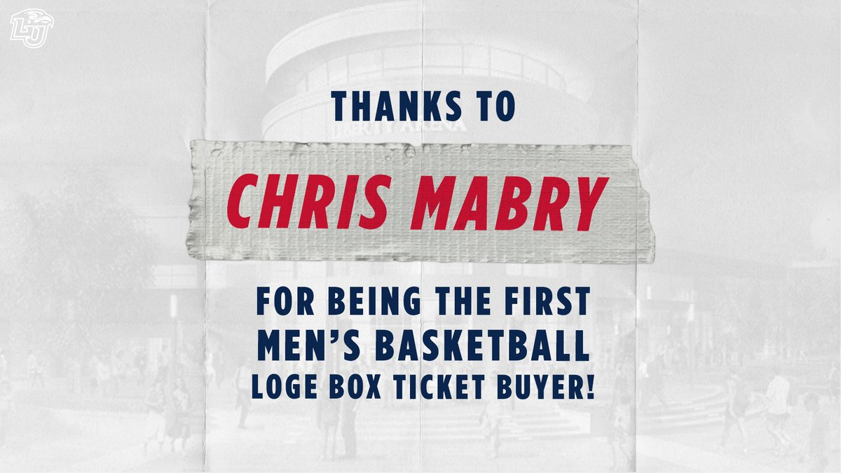 Special thanks to Chris Mabry, Mark Hiepler, Martha Stoudnour, & Cameron Brown for being our first premium season ticket supporters in the new Liberty Arena for @LibertyMBB_ & @LibertyWBB #GoFlames #RiseWithUs https://t.co/VAtbdW4PKd