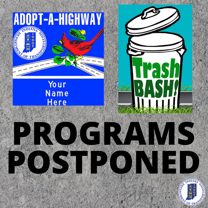 Due to COVID-19, we've postponed Adopt-A-Highway pick up and Trash Bash! However, our staff will continue to remove large debris from the roadway to maintain safe driving conditions and our contracted litter collection partners are continuing their services across the state.