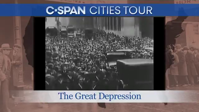 TUNE IN tomorrow, Sat 5/16, at 8pm ET on @cspan as we take a look at the #GreatDepression. Hear stories and visit places around the country related to this historic era. #EconomicCrisis #DustBowl #americanhistory Heres a sneak peek:
