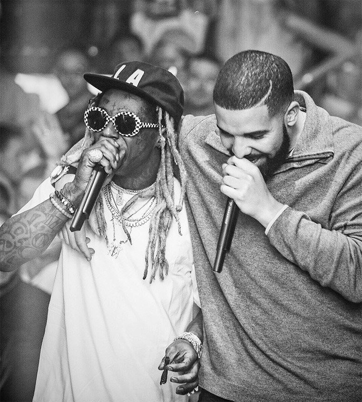 Drake Says Lil Wayne Is In His Top 5 Favorite Rappers Of All Time List - lilwaynehq.com/2020/05/drake-…
