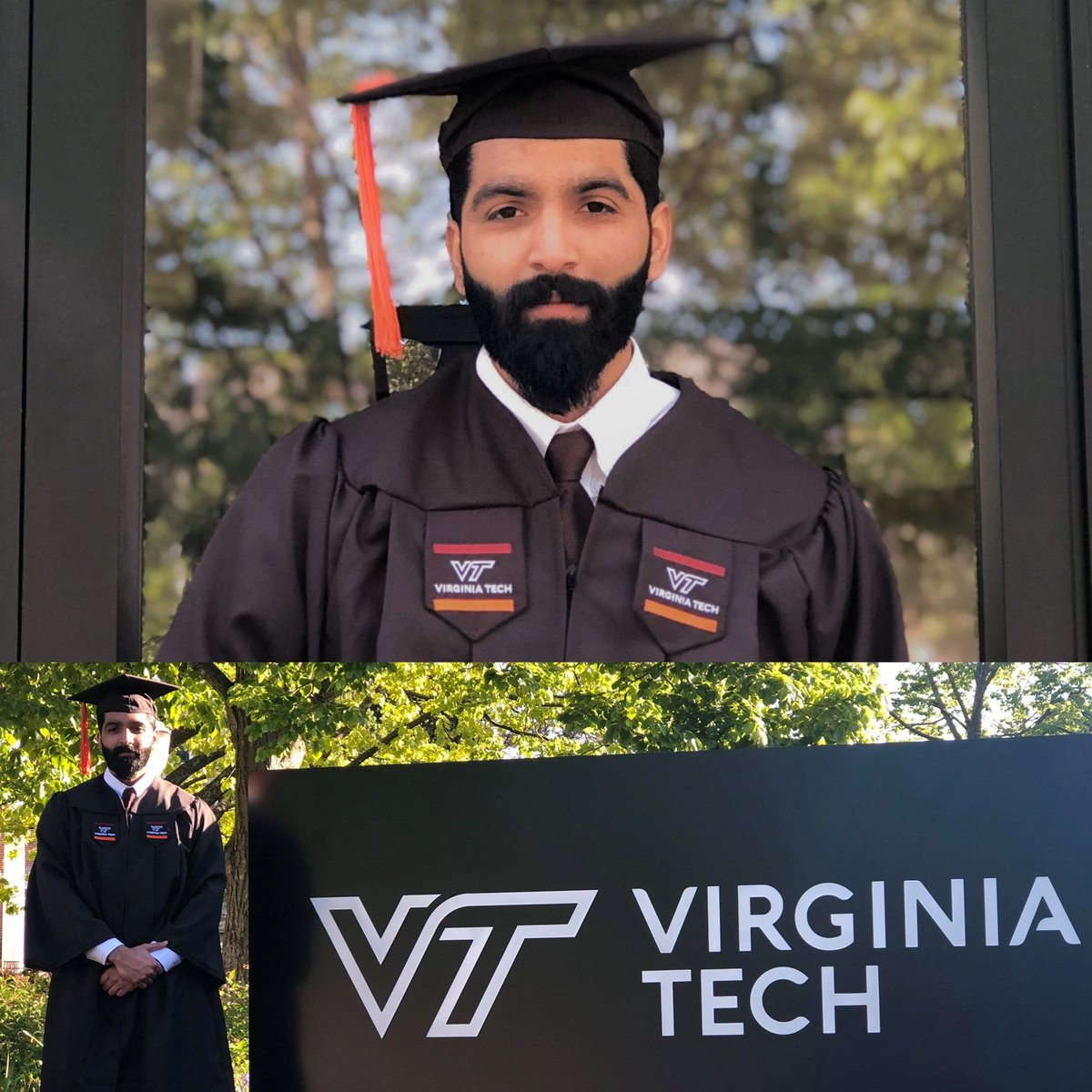 VT First-Gen Graduate Spotlight:  Today, @vt1stgen celebrates Senior Muhammad Awais, a Mechanical Engineering major, on his graduation! We are very proud of you, Muhammad! Congratulations on your exciting next chapter! 🎉🎉 #VTFirstGenGraduate #CelebrateFirstGen