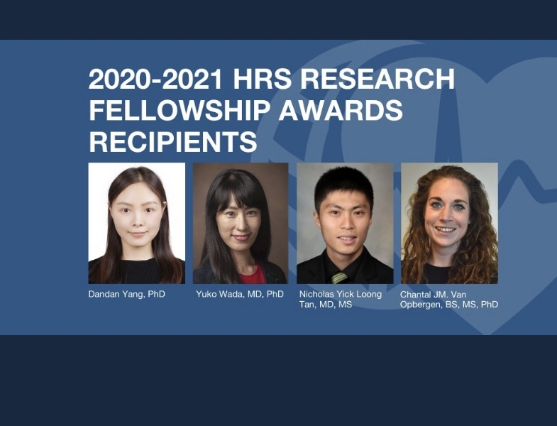 Congrats to these young investigators, including our very own cardiology fellow Dr. Nick Tan! 👏 👏 👏 #HRS #EPeeps