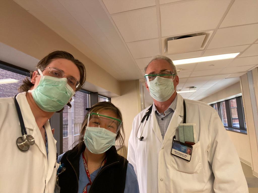 A stellar cardiology team on the congestive heart SUCCESS service. #ACCFIT #heartfailure