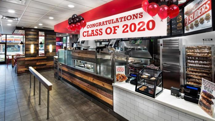 To the class of 2020: we wanted you to get the best senior experience ever, so we did a little virtual decorating. https://t.co/M5TmSJHeIh