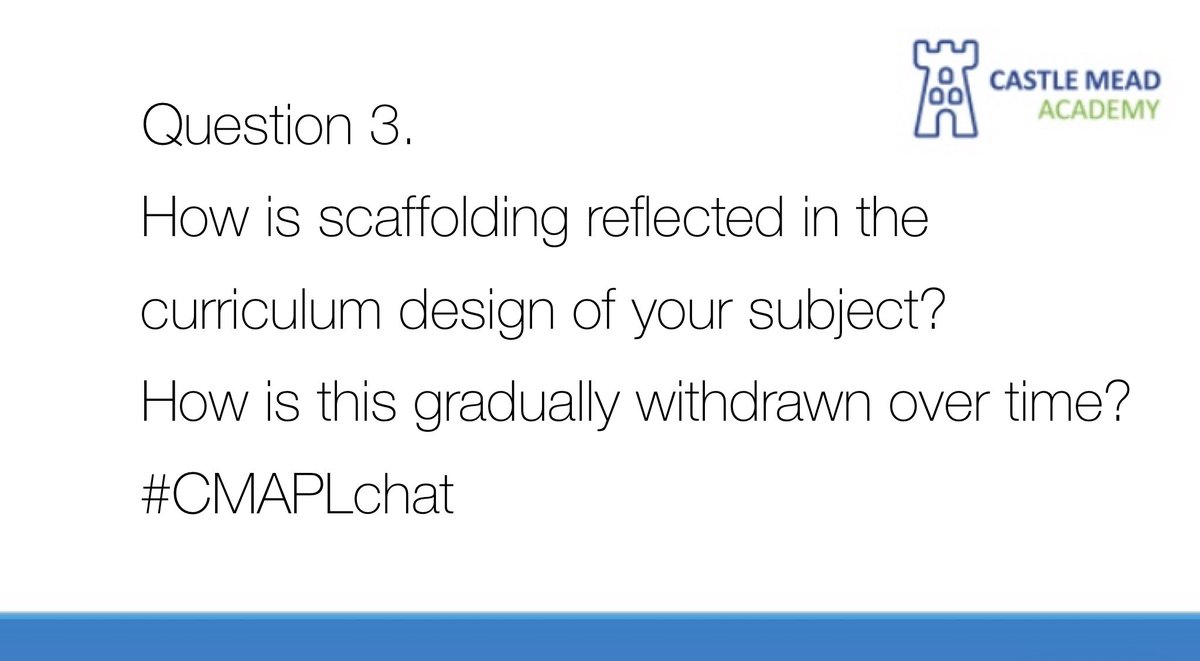 Question 3. #CMAPLchat