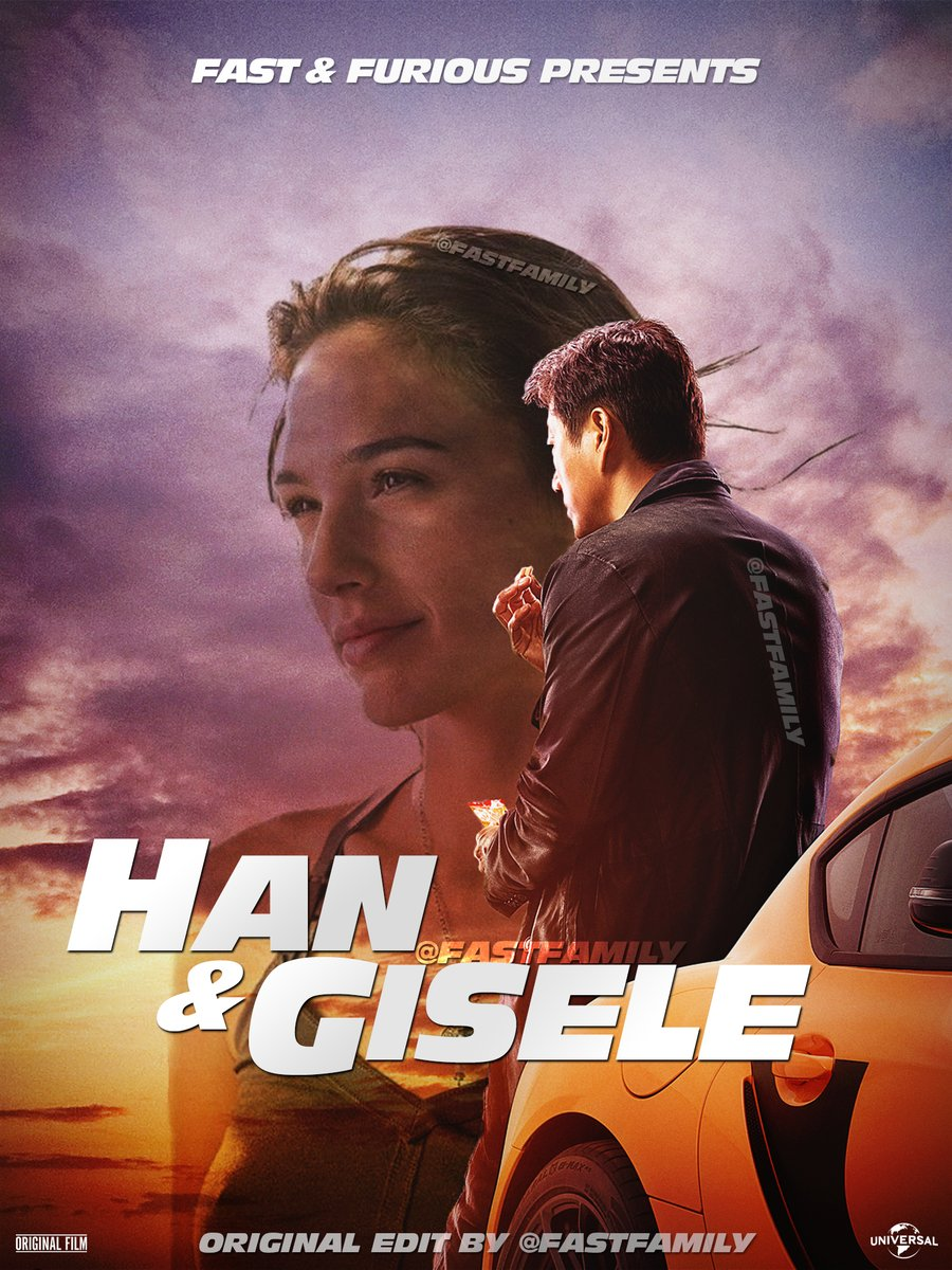 Imagine this.   Would you watch a @TheFastSaga spin-off centered around #HanAndGisele? #F9 #FAST9 #JusticeForHan @GalGadot @SungKang https://t.co/P9sqV4x5wU