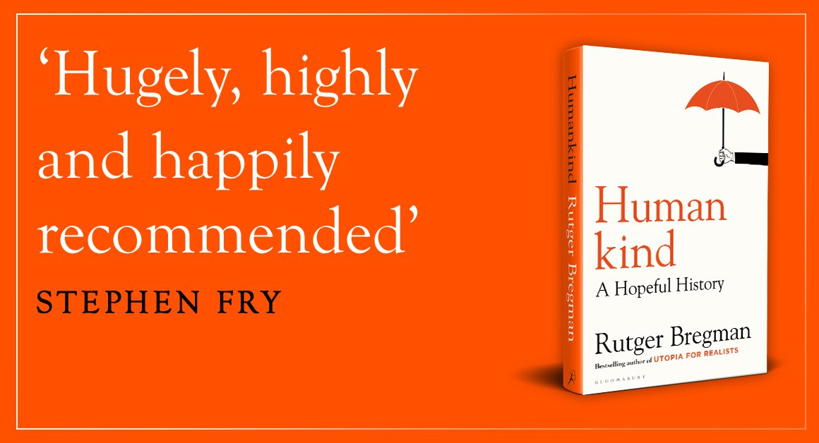 Humankind by Rutger Bregman – a major new book on human history There's a great deal of reassuring human decency to be taken from this bold and thought-provoking book – The Observer guardianbookshop.com/humankind-9781…
