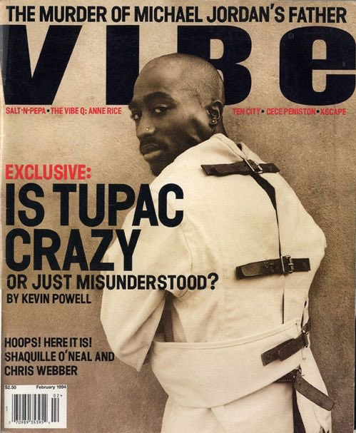 Lil Wayne Recreated 2Pac's Classic '94 VIBE Magazine Cover For @Complex, '07