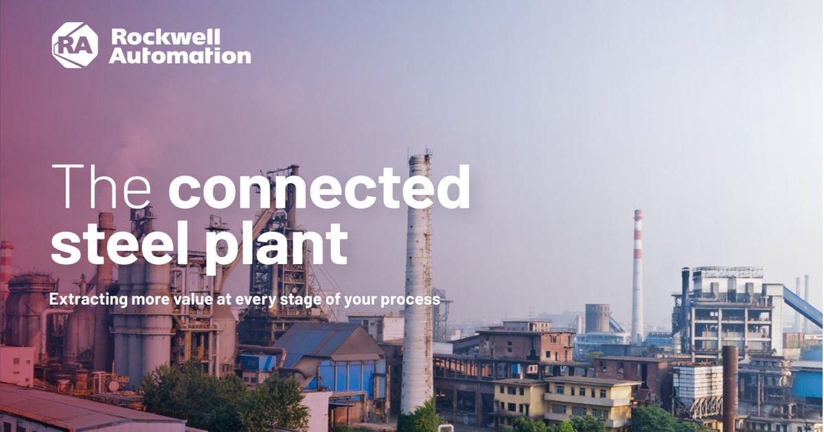 Holen Sie mit digitaler Technik mehr aus einem vernetzten #Stahlwerk heraus. Lesen Sie dazu unsere neue Broschüre. https://t.co/GNR3LFyjMw https://t.co/8p6BCLSCad