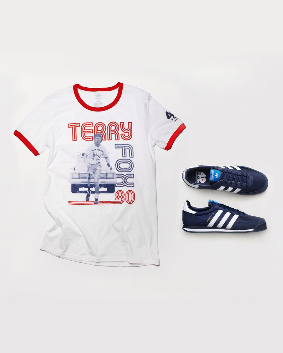 Uniting a nation through the power of hope.  On May 20th, to celebrate the 40th anniversary of Terry Fox's Marathon of Hope, we will be releasing a commemorative collection dedicated to Terry and his remarkable journey.  Learn more at https://t.co/toTJTAORwb. #ThanksTerry https://t.co/eijvo4HrUN