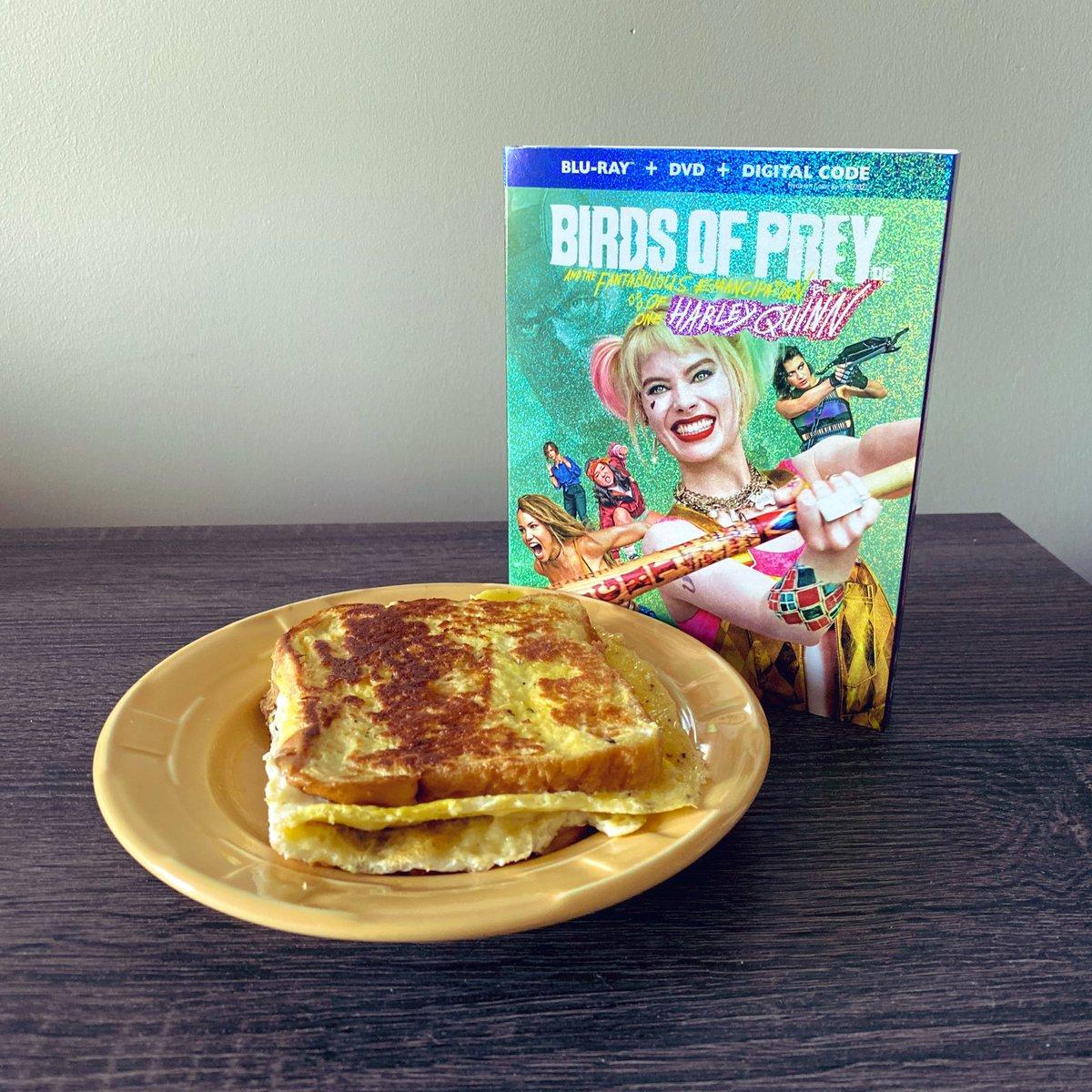 Matt Neglia On Twitter I Made That Famous Tiktok Egg Breakfast Sandwich To Celebrate My Bluray Purchase Of Birdsofprey I Think Harley Quinn Would Approve Margotrobbie Filmtwitter Https T Co Tep5fcdb4s