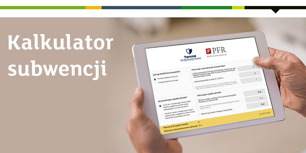 Skorzystaj z naszego kalkulatora #TarczaFinansowaPFR i oblicz maksymalną kwotę subwencji dla firm z Polskiego Funduszu Rozwoju:  👉https://t.co/bG7K7cV8J8 https://t.co/Qong3hYJFt