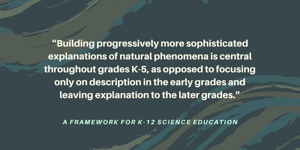 Elementary kids can make sense of the world around them too! #FrameworkFriday #NGSS #Equity
