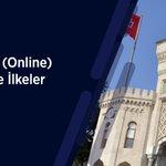 Image for the Tweet beginning: Üniversitemiz örgün öğretim çevrimiçi (Online)