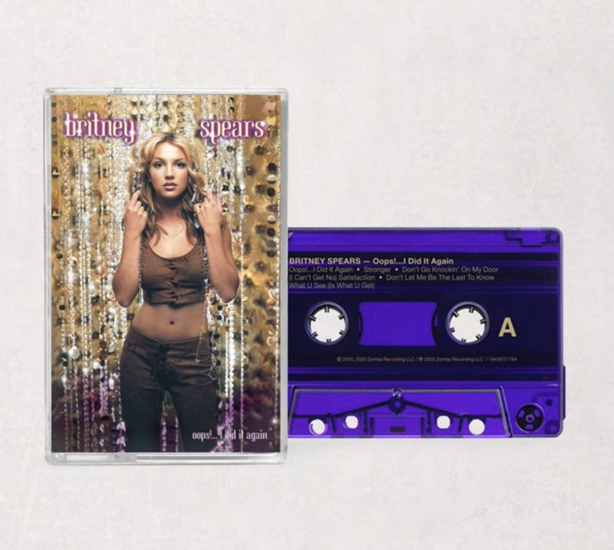 Urban Outfitters On Twitter She S Legendary Preorder Britneyspears Iconic Oops I Did It Again On Exclusive Clear Vinyl With Purple And Gold Splatter And Exclusive Purple Cassette Vinyl Https T Co Lpyfjyxk1x Cassette Https T Co