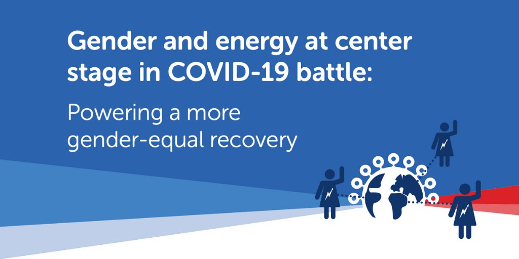 A great long read from @Energia_org on gender & energy access in COVID economic recovery plans: