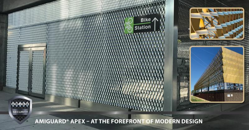 #AMICOSecurity created #APEX, a new line of high-quality Architectural Expanded Products. It offers a unique combination of opaqueness, translucency, texture, & structural integrity.   Follow us on LinkedIn ➡️ https://t.co/ahisgafDxb Click to learn more ➡️ https://t.co/SAfxex67CU https://t.co/M2sBmb32f1