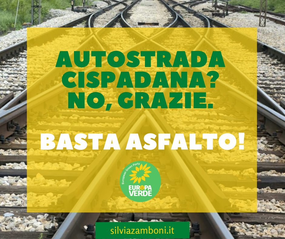 Un nuovo articolo (La ripartenza non sia trampolino per opere stradali dannose per l'ambiente. Mie interrogazioni alla Giunta su Cispadana e Sassuolo-Campogalliano) è su Silvia Zamboni - silviazamboni.it/la-ripartenza-…
