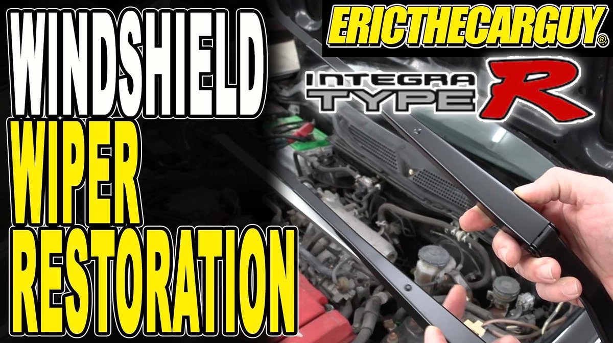 Some restoration work for the Type R but also a guide on how to repair loose windshield wipers. Check it out. #etcgvideo #etcgblackbeard #wipers #integratyper #honda https://youtu.be/8q4FQdn-raEpic.twitter.com/KGxFhTEjYi