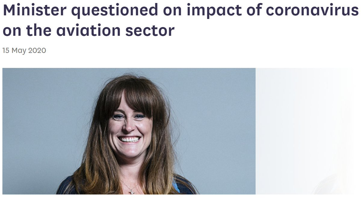 [1/2]🗓️Next Wednesday we will be questioning the Minister for Aviation @KellyTolhurst on the impact of coronavirus on the aviation sector We will also be talking to: ✈️@unitetheunion ✈️@swissport ✈️@BALPApilots ✈️@UK_CAA See full details here: committees.parliament.uk/committee/153/…