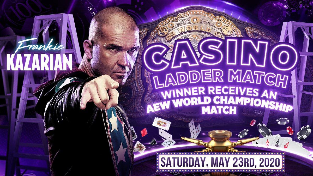 Frankie Kazarian Announced For Casino Ladder Match At AEW Double Or Nothing
