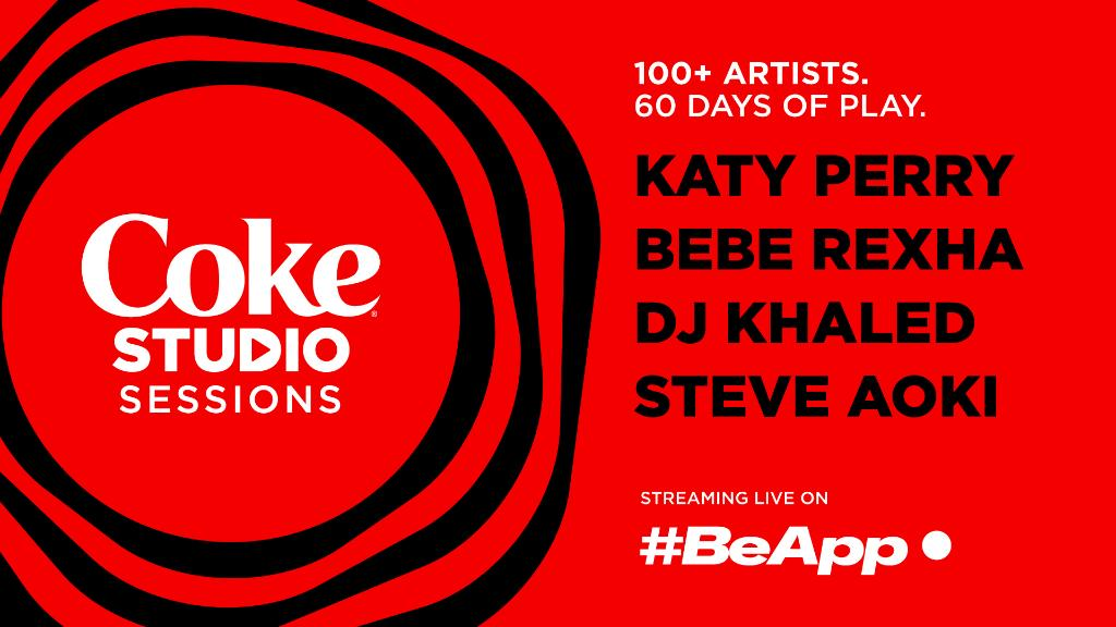 Coca-Cola and #BeApp have teamed up to launch #CokeStudioSessions, bringing you +100 artists, over 60 days. All proceeds go to the International Red Cross to help support Covid-19 relief efforts. Find out more here: https://t.co/t0tE8JLCcK https://t.co/9uCHl2DQ20