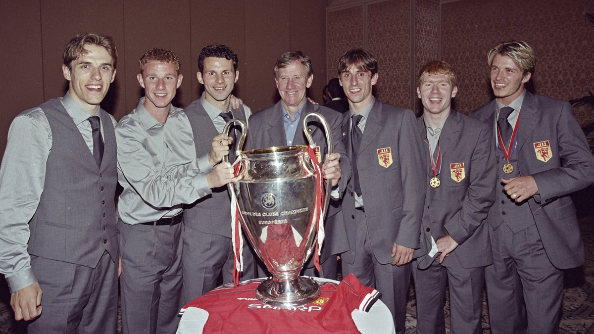 One photo. 3,449 games. 120 trophies. #MUFC