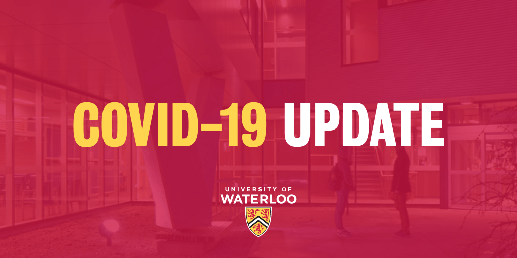 For those graduating from @AssumptionHCDSB. Stayed tuned in to the announcements from your university/college of choice. This is what @UWaterloo is planning for next year. Stay informed! https://t.co/cNzadEkuX4