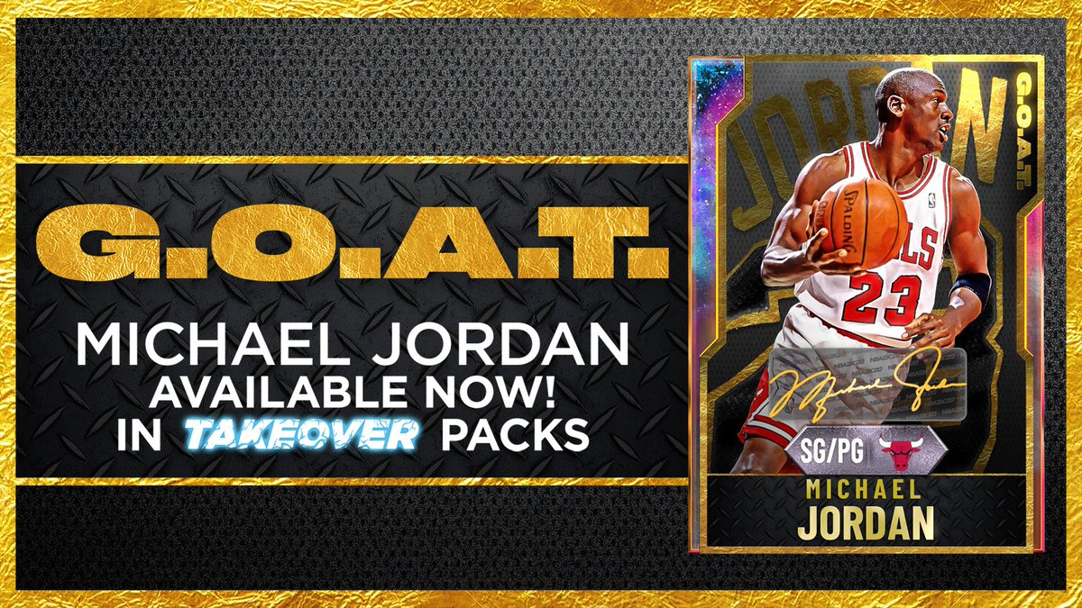 Who's taking flight with His Airness? 🐐 Galaxy Opal MJ has 99 everything & 65 HOF badges https://t.co/x3fHWxKqou