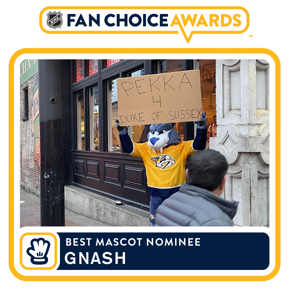 😻😻😻 Cast your vote now for the @NHL's Best Mascot: bit.ly/2Z055hM