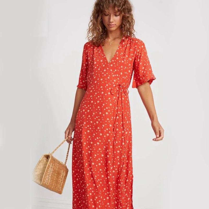 It's out Red Flower Retro Wrap Midi Dress for only $41.29 https://shortlink.store/CERsttqvkC   Selling out fast so be quick! #klozetstyle #style #fashionpic.twitter.com/SAKksNVs4v