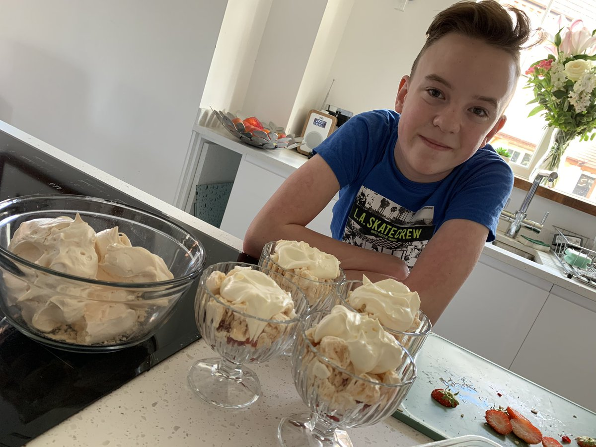 A late entry to the EDA bake off challenge. Well done to this young man for completing every challenge we set #weareEDA #ProudtobeEDA