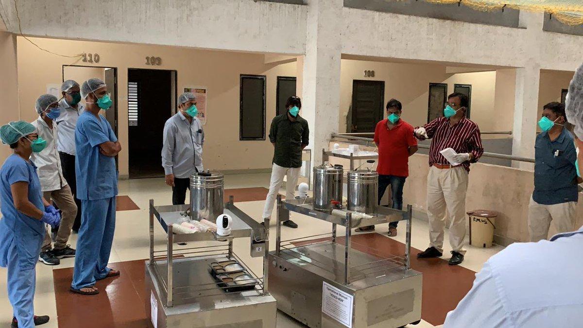 7 Robot trolleys now on the job in Surat hospitals