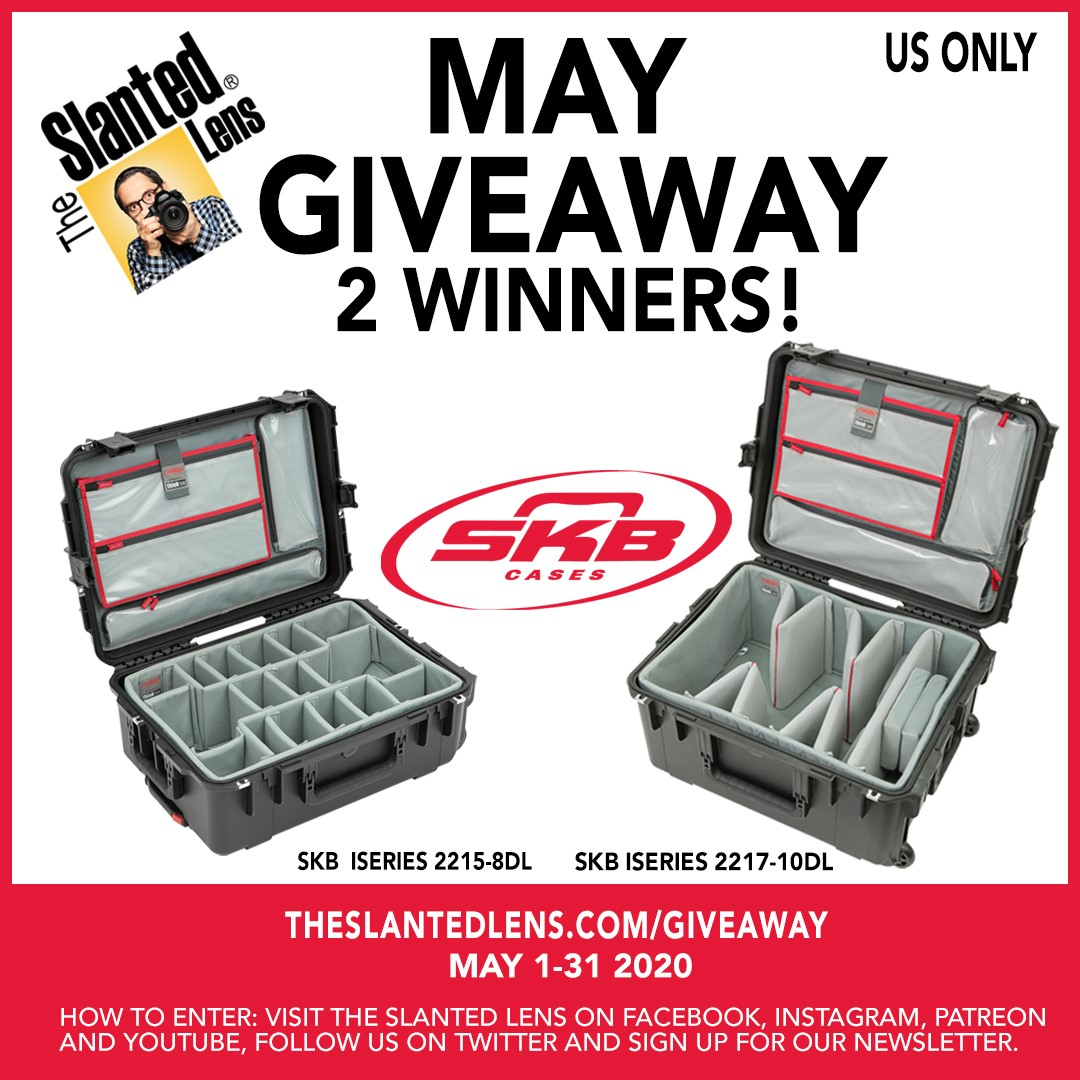 Our good friends at @TheSlantedLens are giving away SKB camera cases! Will you be one of the lucky winners? Enter here: bit.ly/2SKqgAM