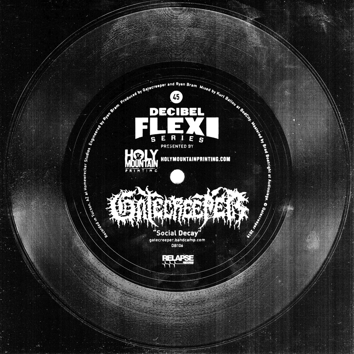 'Social Decay' from our @dbmagazine Flexi is up now on all streaming services. orcd.co/gc-socialdecay