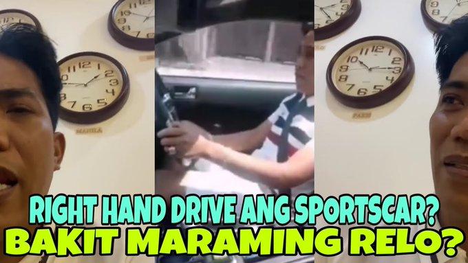 BAKIT RIGHT HAND DRIVE ANG SPORTSCAR NI FLM? BAKIT MADAMING RELO SA KANYANG OPISINA? -  (2020)