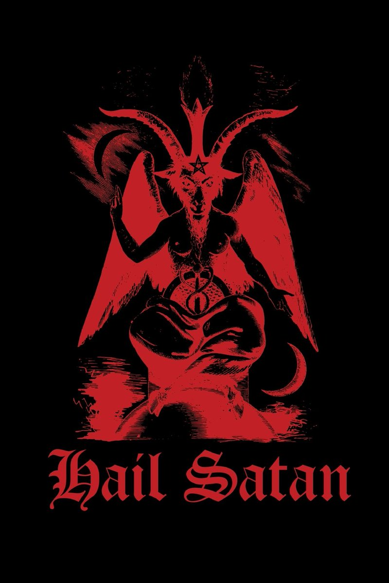 Im so hardcore i bow down to satan with swag