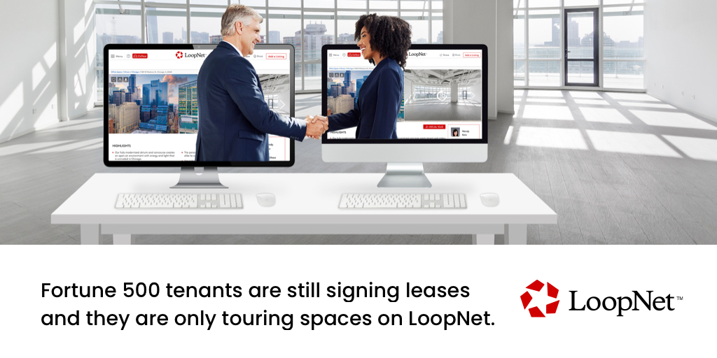 Five million #tenants toured properties on LoopNet last month. While in-person tours are no longer possible, tours on #LoopNet have surged 60%. Over 1 million #leases will expire this year and deals have to get done. Your next tenant is on LoopNet. https://t.co/yC30jxsEaj https://t.co/DAyT4KBjHU